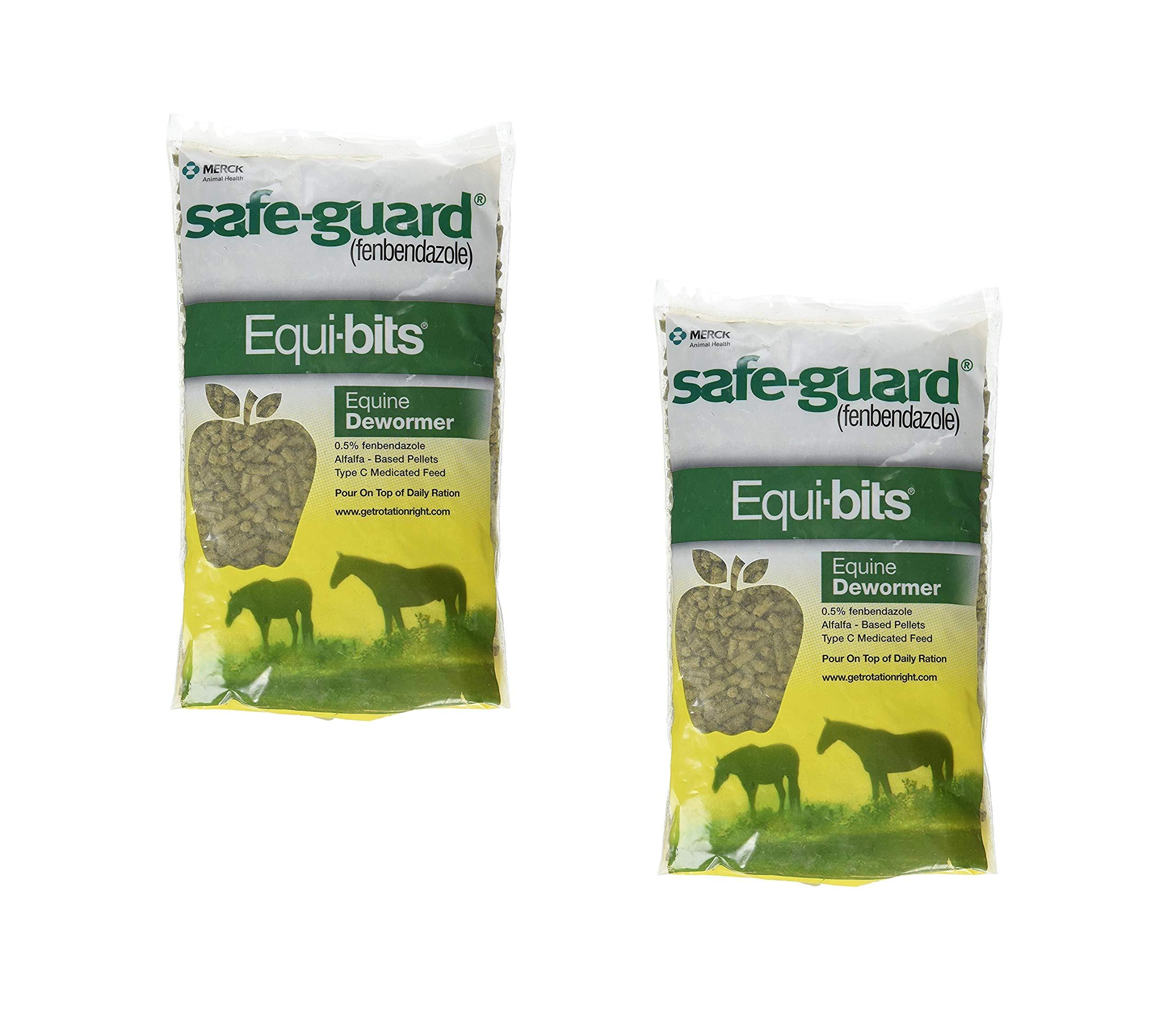 Intervet Safeguard Dewormer Pellets for Horses, 1.25-Pound (2 Pack)