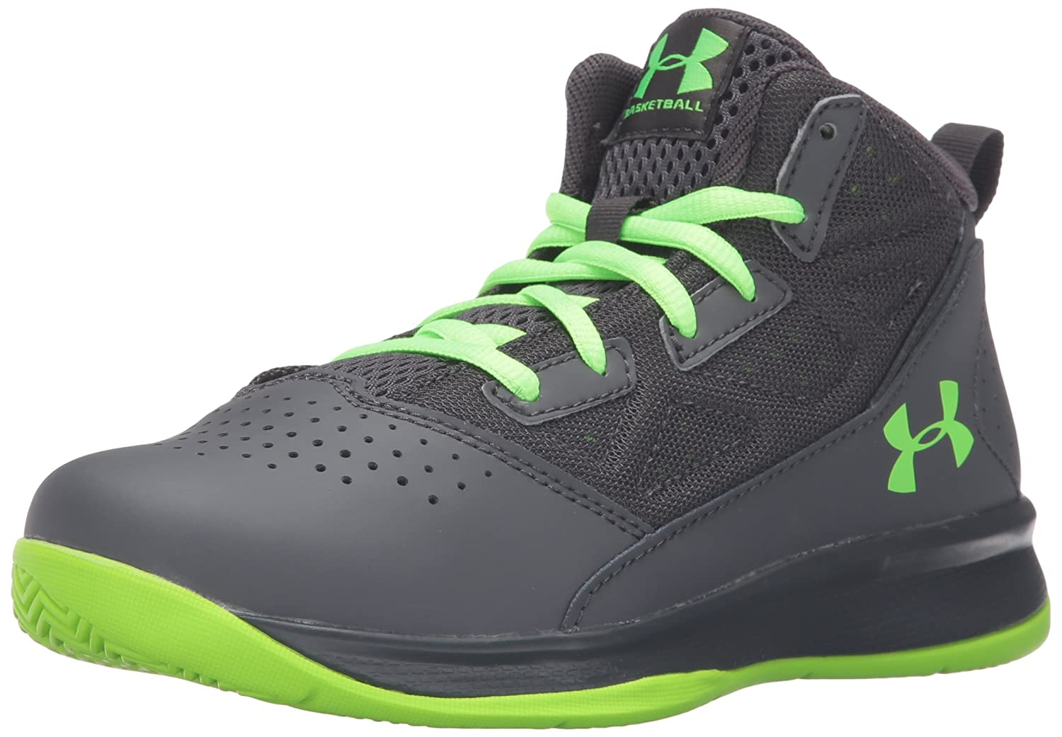 5d7a6ef0ef4c Under Armour Unisex-Child Boys  Jet Mid Basketball Shoes - Grade School Boys   Pre School Jet Mid  Amazon.co.uk  Shoes   Bags