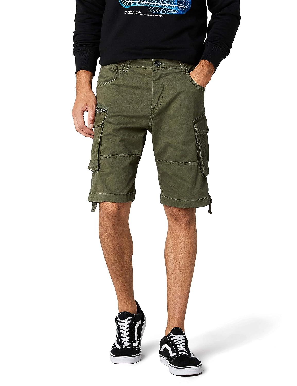 TALLA 52 (Talla del fabricante: Large). JACK & JONES Pantalones Cortos para Hombre