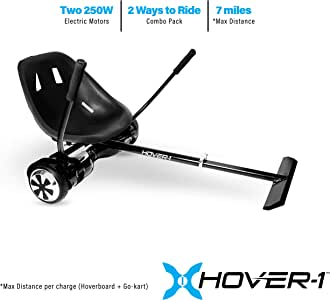 Amazon.com : Hover-1 Ultra Electric Hoverboard and Go-Kart ...
