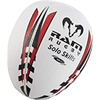 Ram Solo Skills Rugby Ball – Rebound Wall Individual Shadow Training (size 5, 4 and 3)