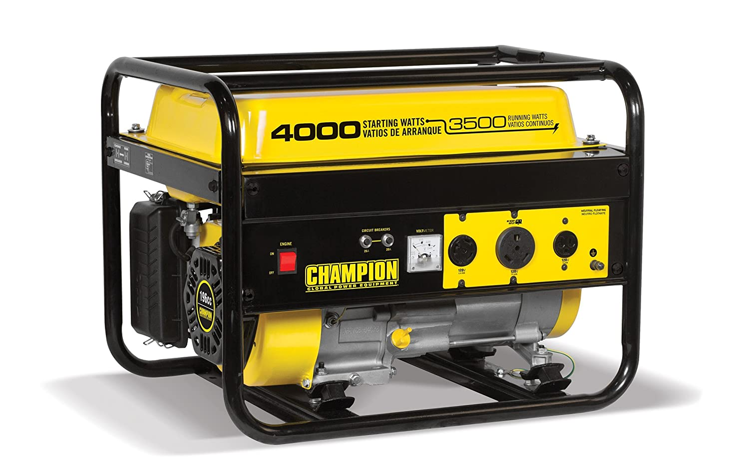 5. Champion 3500-Watt RV Ready Portable Generator