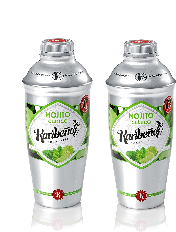 Mojito Clásico 70cl. - Karibeño Cocktails (Pack 2 unidades ...