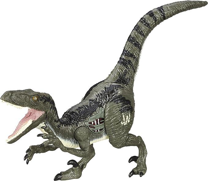 Jurassic Blue Dinosaur Velociraptor Toy Educational Birthday Model J3S9