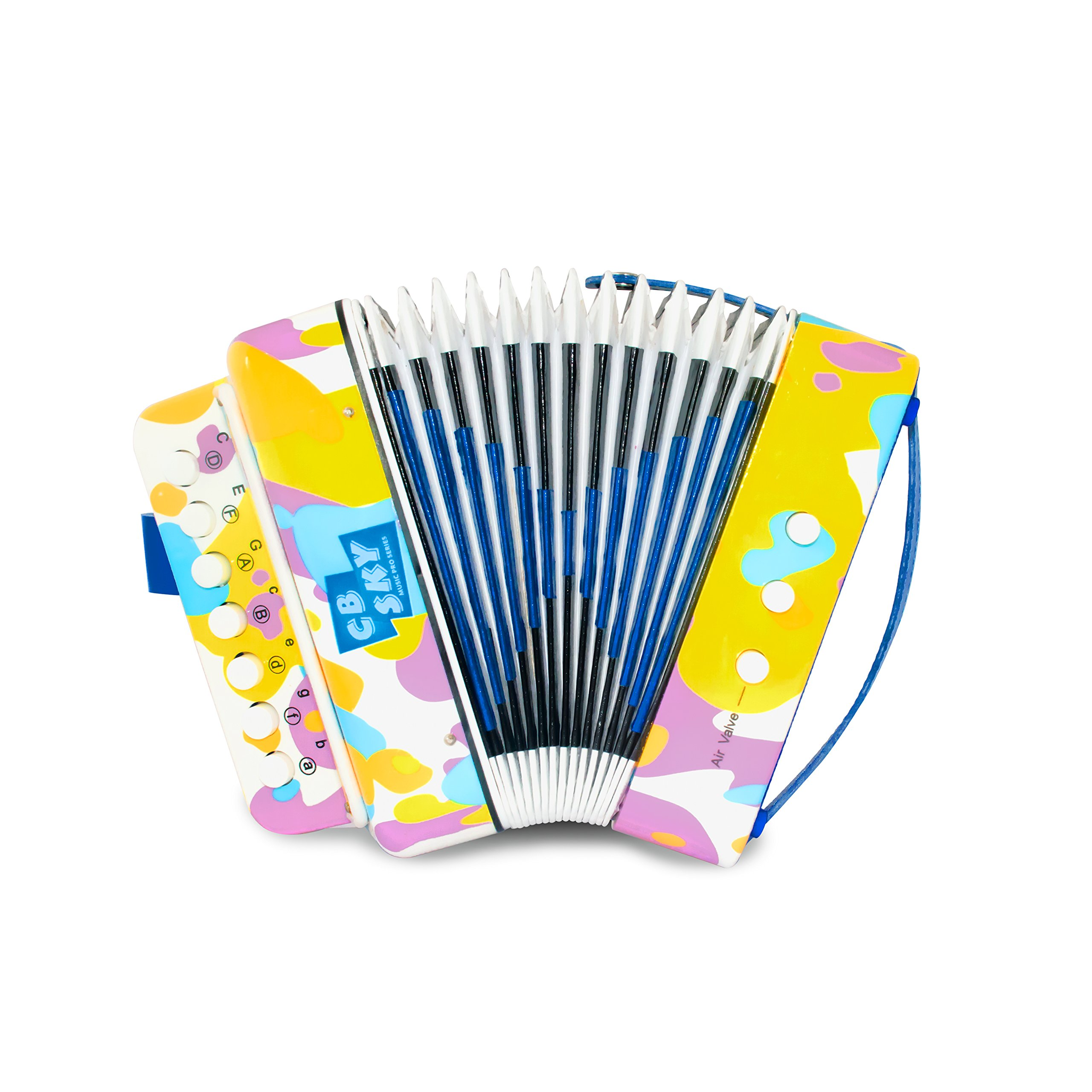 CB SKY Kids' Accordion / Kids Musical Instrument / Musical Toys(Y)