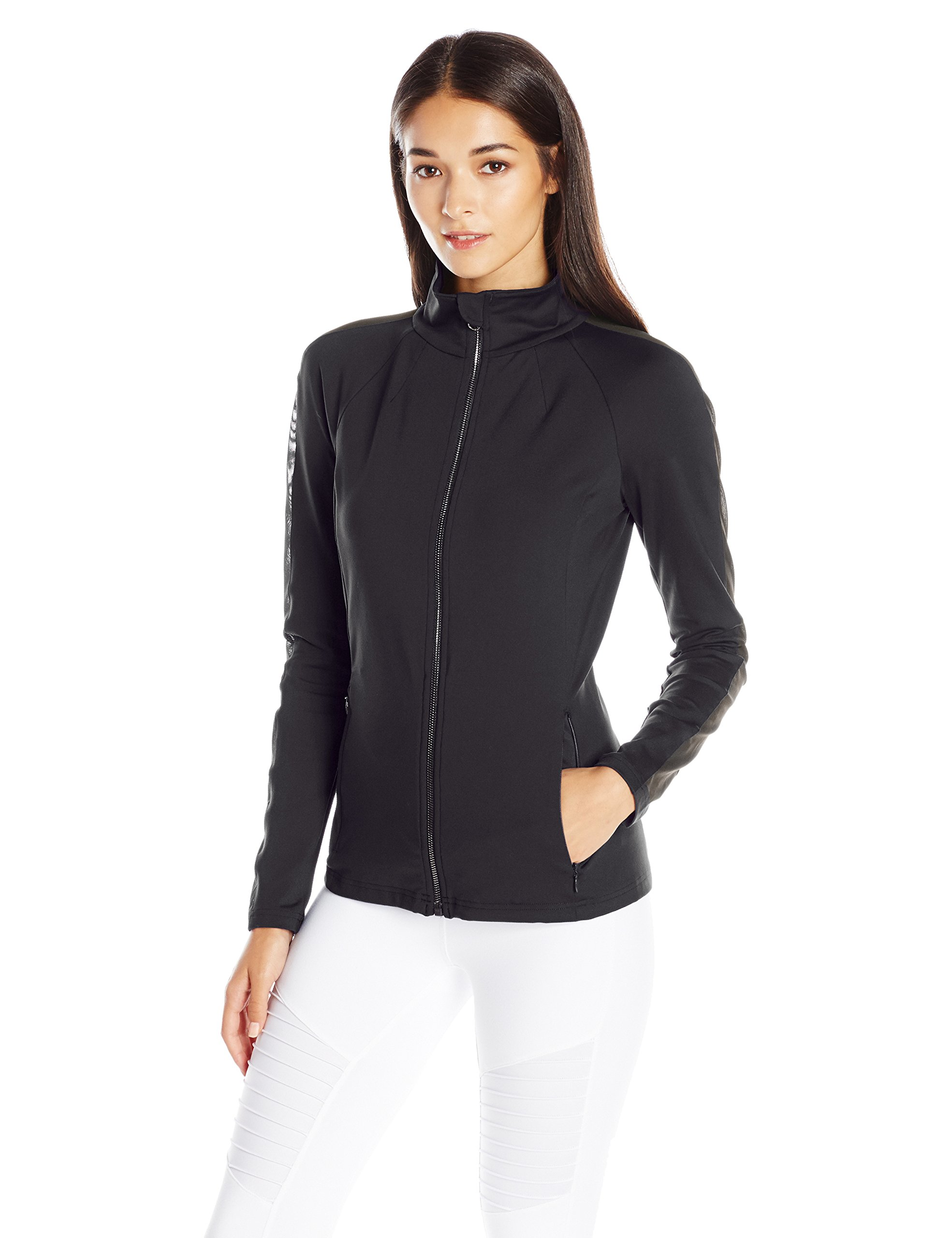 Alo Yoga Women's Kata Jacket, Black, M