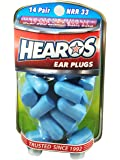 HEAROS Xtreme Ear plugs - Best In Class Noise Cancelling Disposable Foam Earplugs With NRR 33 Hearing Protection, 14 pairs