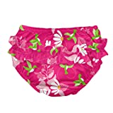 i play. Baby Girls' Ruffle Snap Reusable Absorbent