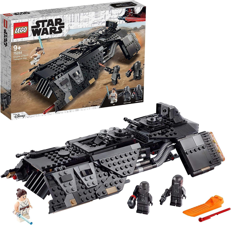 LEGO 75284 Star Wars Nave de Transporte de los Caballeros de Ren con Minifigura de Juguete de Ray