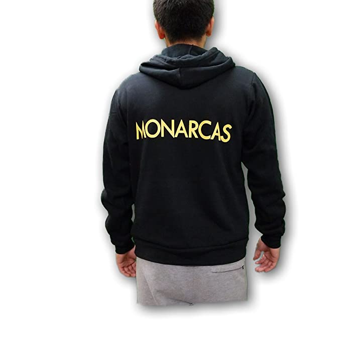 ESF Monarcas Morelia Mens Pullover Hoodie Sweatshirt at Amazon Mens Clothing store: