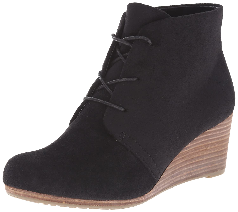 Dr. Scholl's Shoes Women's Dakota Boot B06ZZ2LWSW 8.5 W US|Black Microfiber