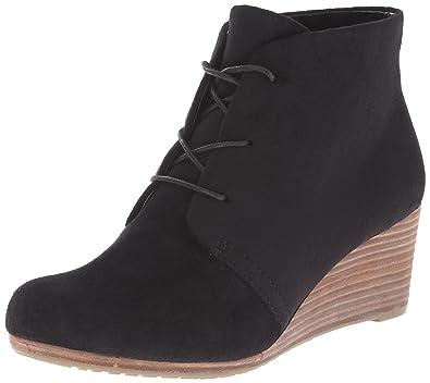 6ef7144354b2 Dr. Scholl s Shoes Women s Dakota Boot Black Microfiber ...