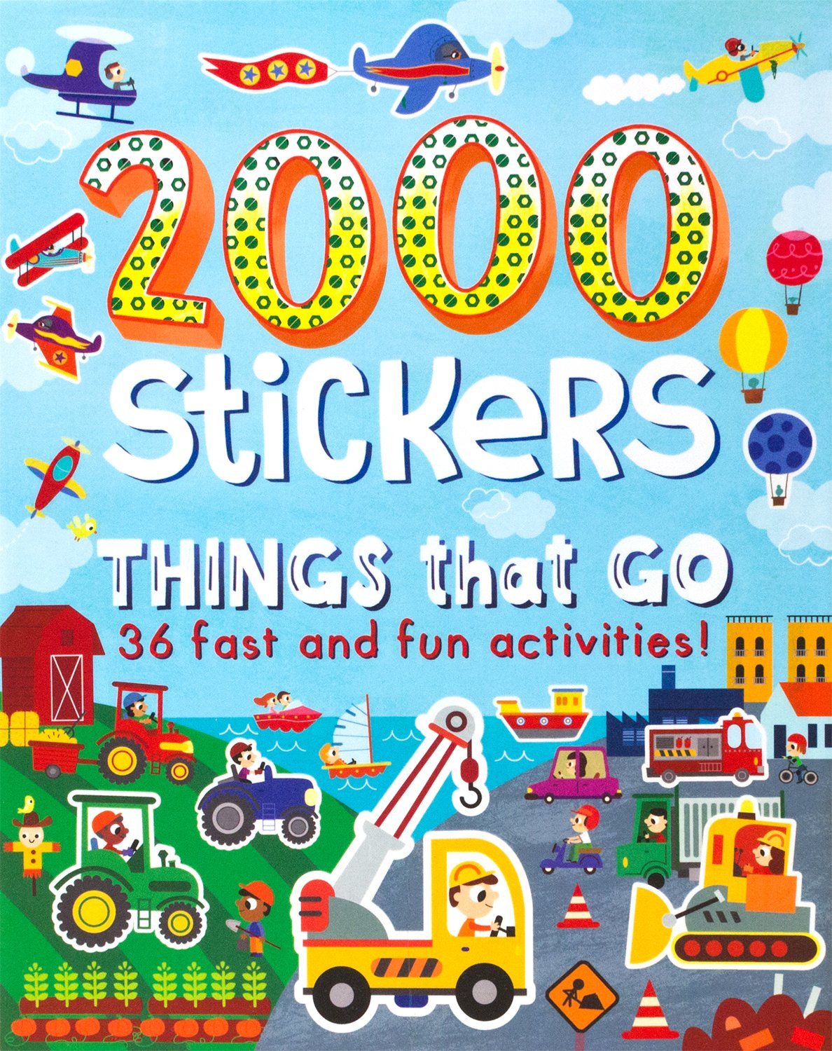 Download 2000 Stickers Things That Go pdf epub