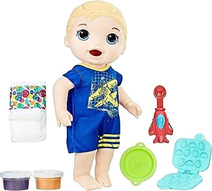 Baby Alive Super Snacks Snackin/' Luke Brunette