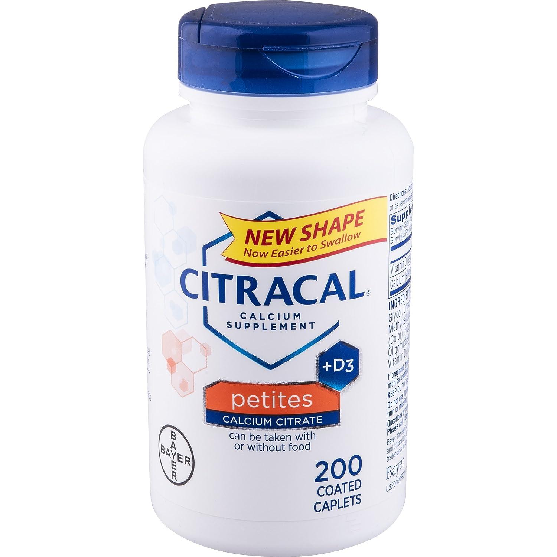 Bayer Healthcare - Citracalカルシウム+ D3 Petites 400 mg。200カプレット B0043ZLTT4