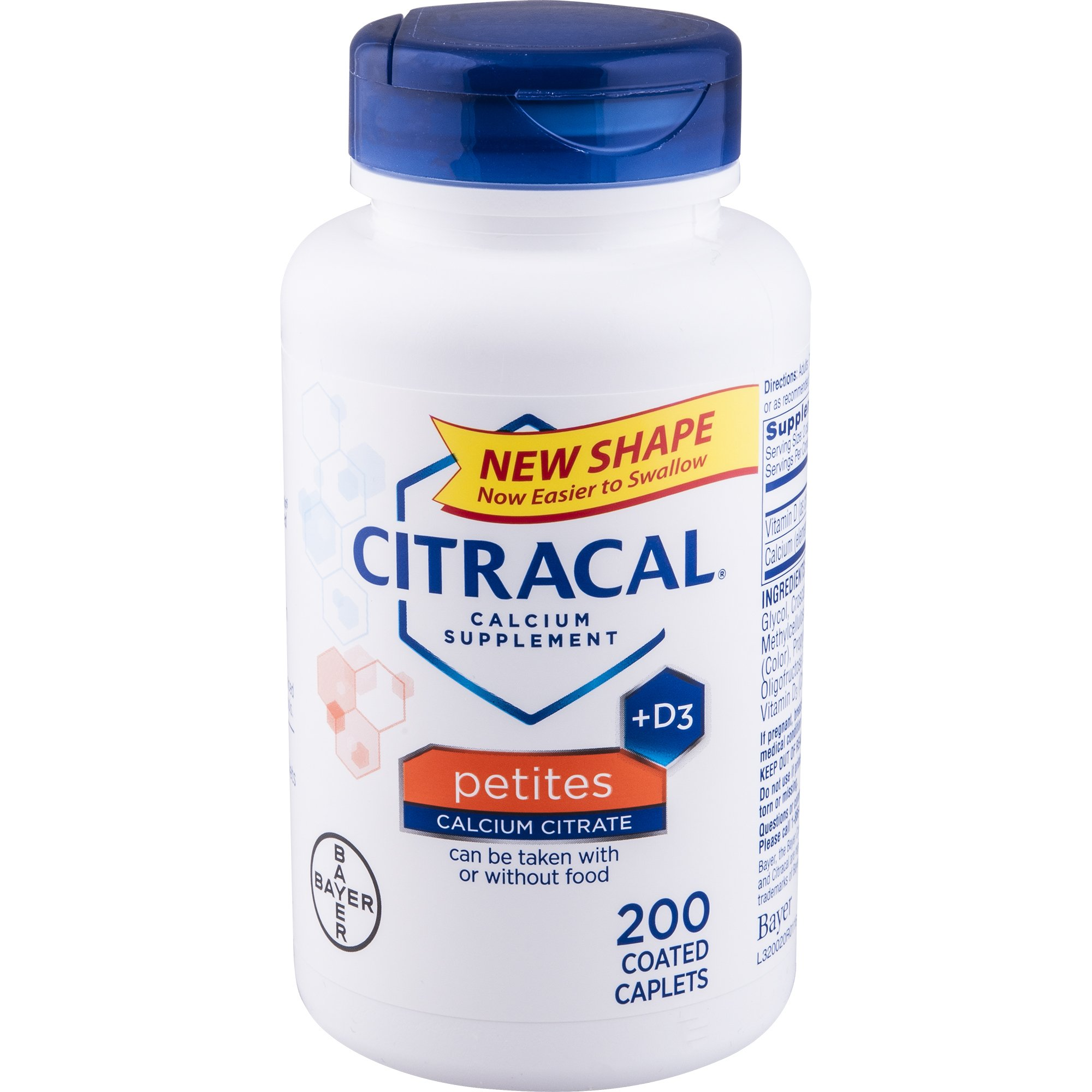 Citracal Petites, Highly Soluble, Easily Digested, 400 mg Calcium Citrate With 500 IU
