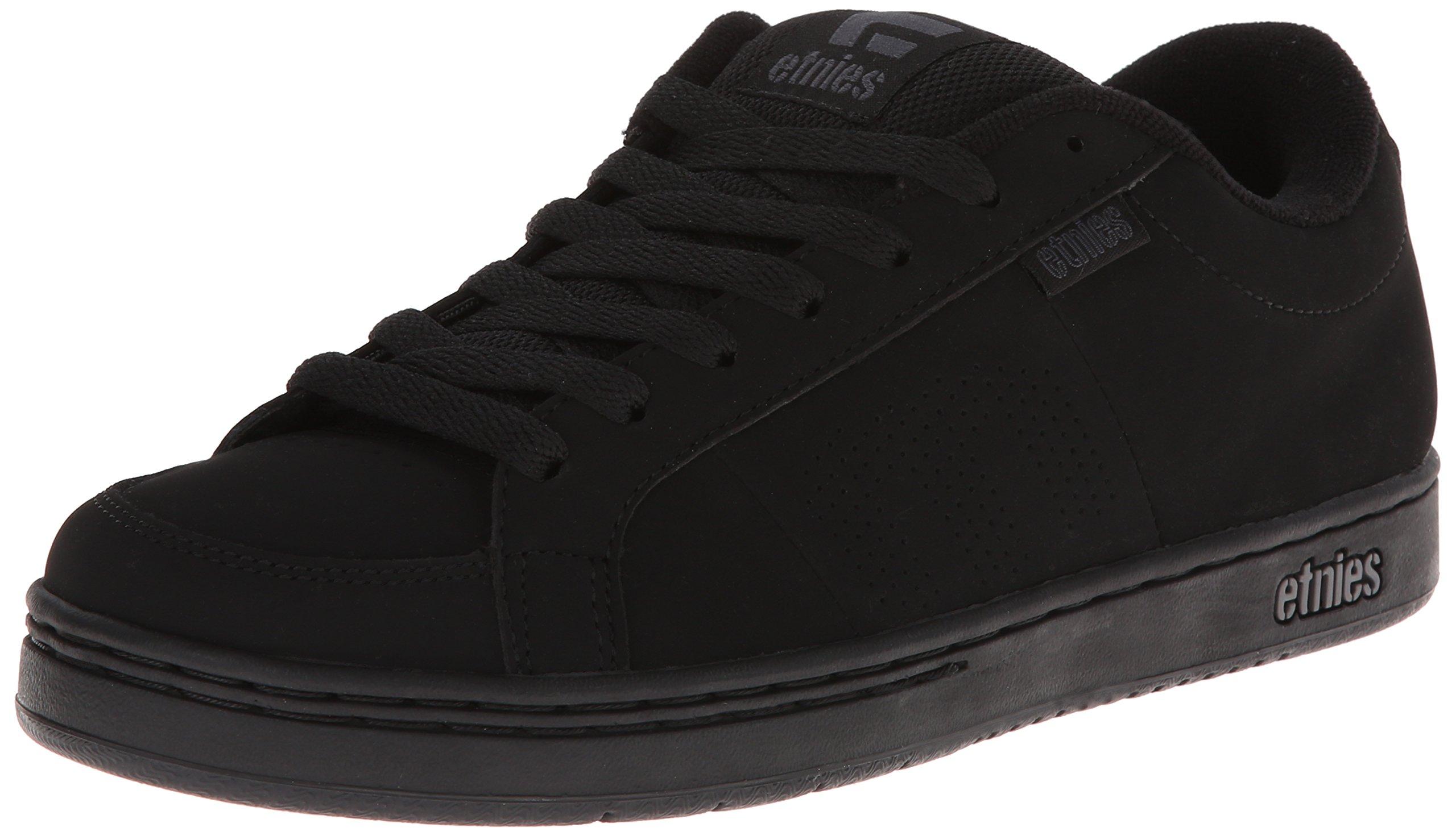 Etnies Men's Kingpin Skate Shoe, Black, 10 Medium US by Etnies
