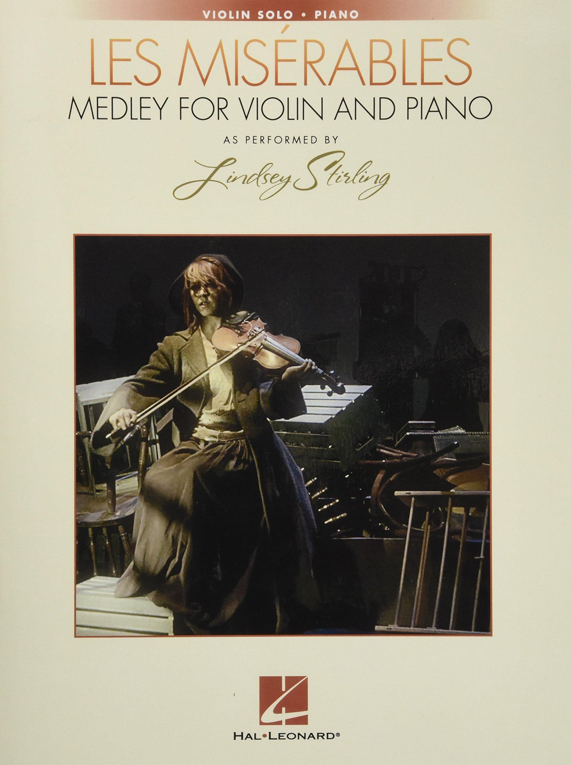 Les Miserables Medley for Violin and Piano: As Performed by Lindsey Stirling