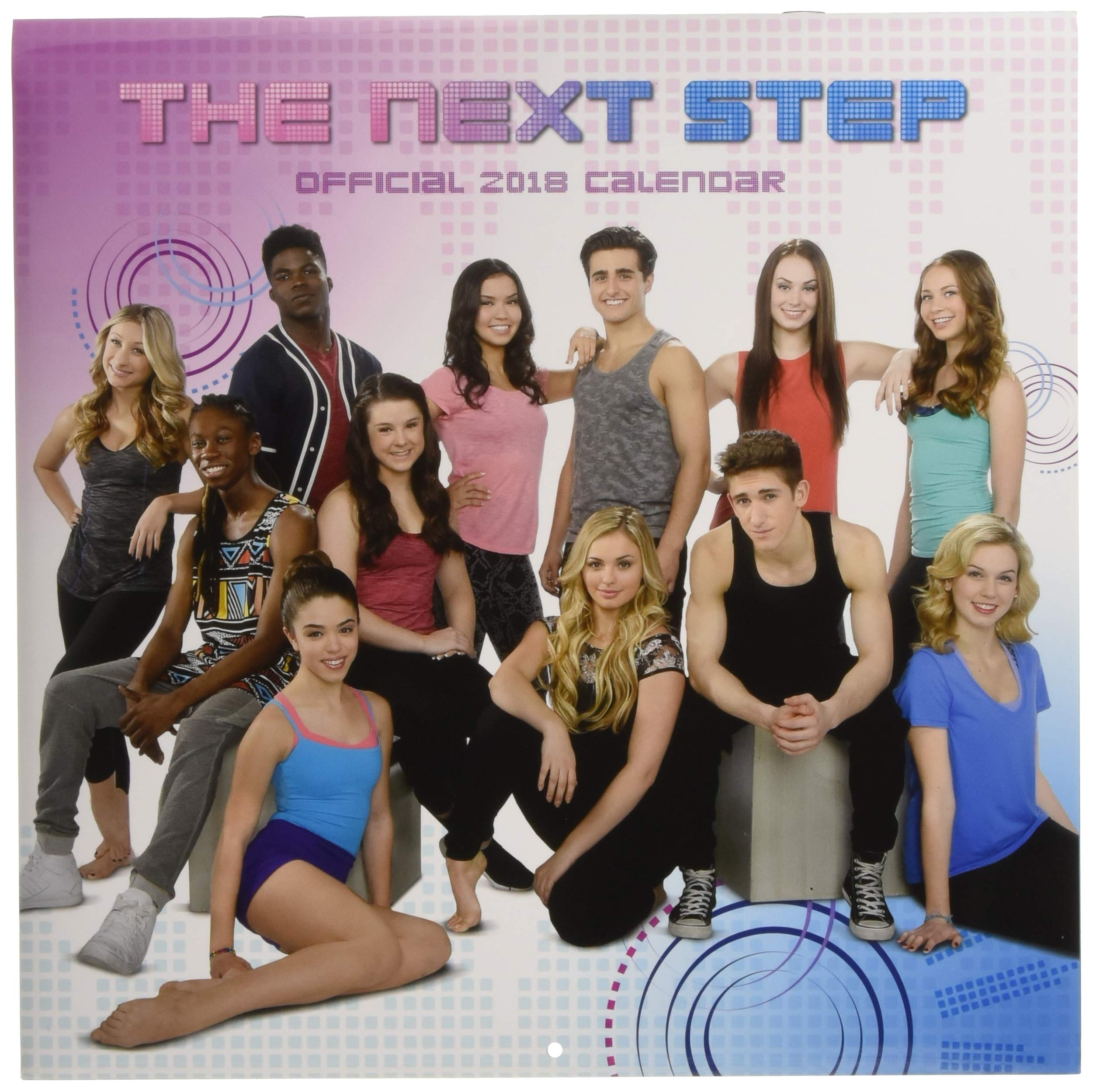 The Next Step Official 2018 Calendar - Square Wall Format ...