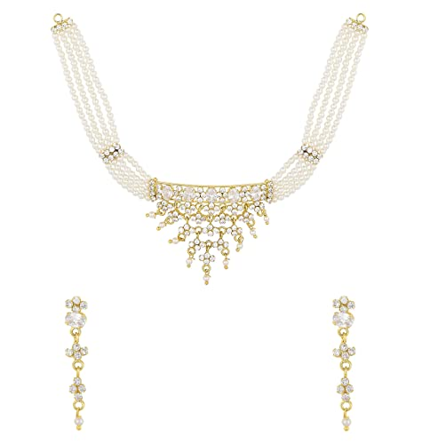 32eaaf0225ed2 Buy Archi Collection Fashion Jewellery Gold Plated Traditional ...