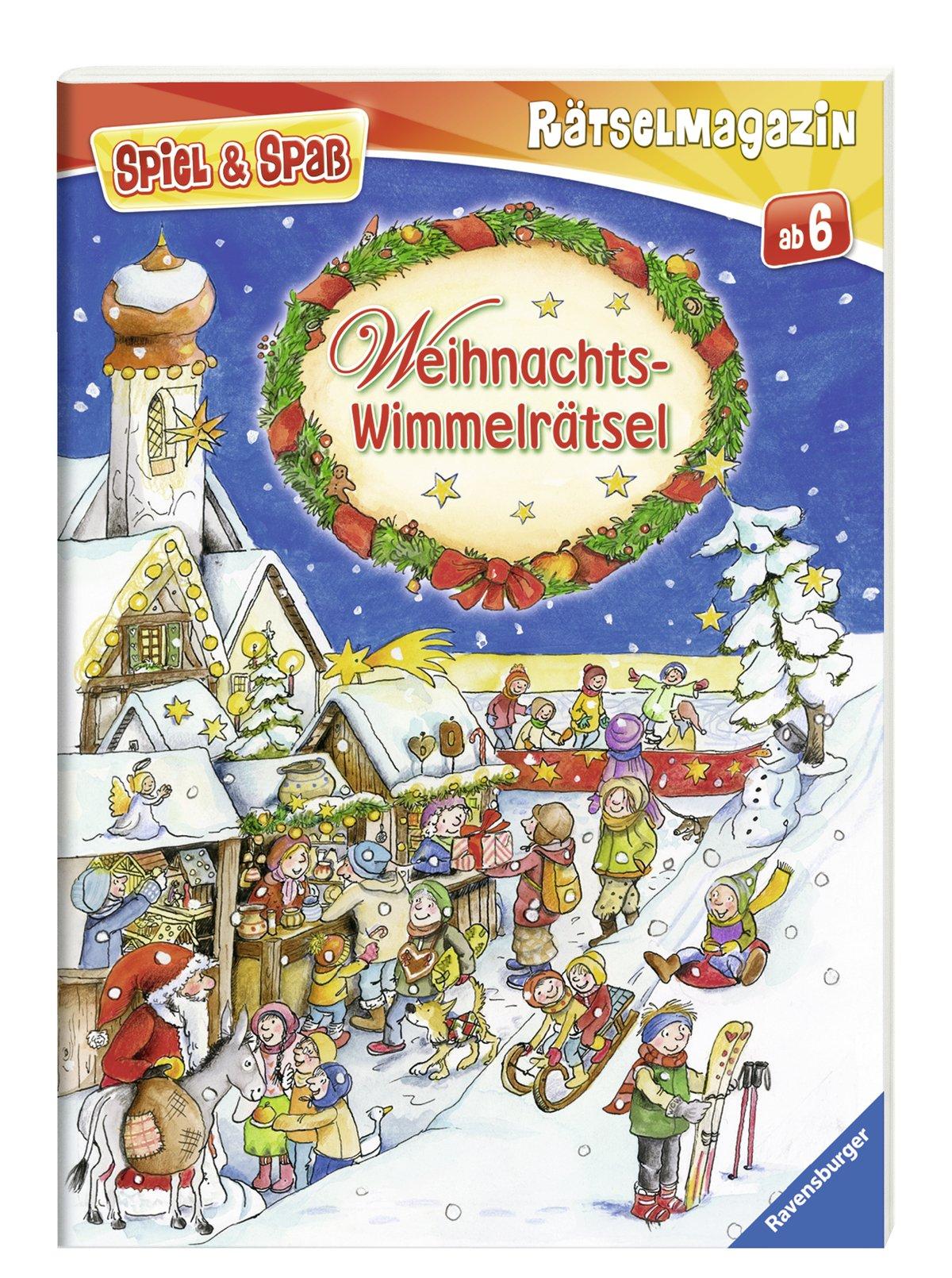 Weihnachts-Wimmelrätsel Spiel & Spaß - Rätselmagazin: Amazon.de ...
