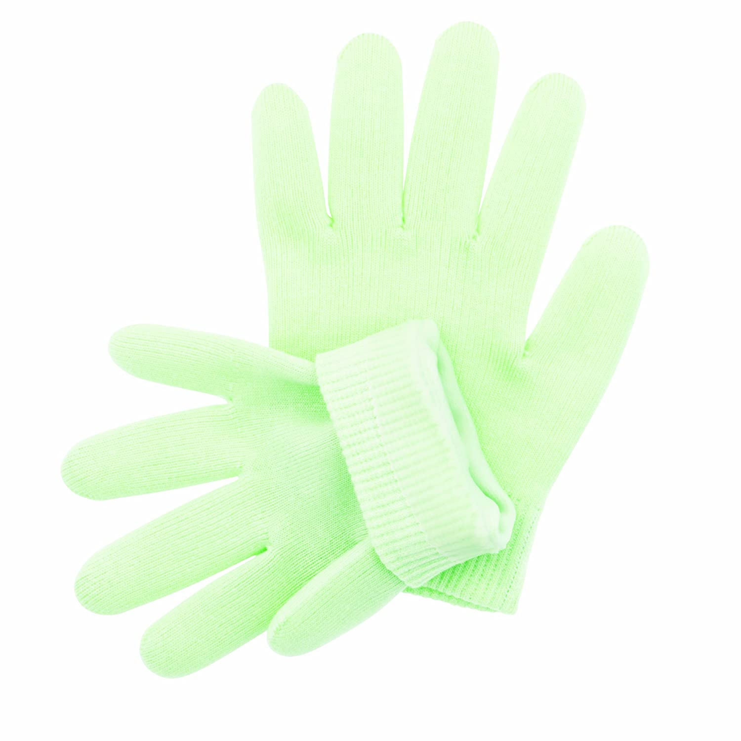Accessories By Upper Canada 766602 Moisturizing Gel Spa Gloves, Green Upper Canada Soap