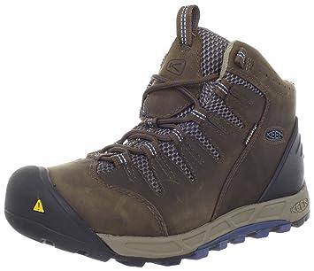 Keen Bryce Mid WP - Zapatillas de Senderismo de Cuero para Hombre Marrón Braun (DarkEarth/Rust), Color Marrón, Talla 41: Amazon.es: Zapatos y complementos
