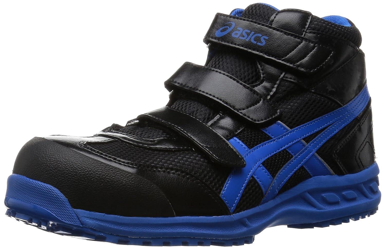 [アシックスワーキング] asics working 安全靴 作業靴 ウィンジョブ42S 樹脂製先芯 B011NK4OEI 24.0 cm|ブラック/ブルー ブラック/ブルー 24.0 cm