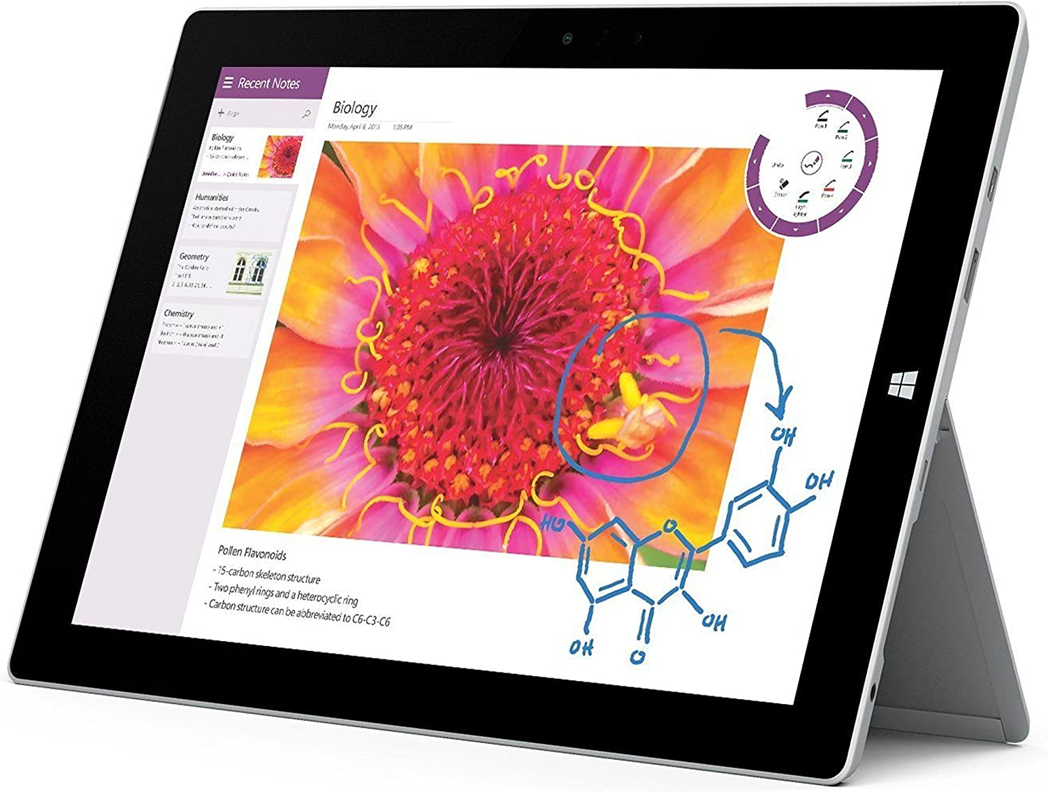 Microsoft Surface 3 GL4-00009 4G LTE 10.8 Inch 128GB Tablet