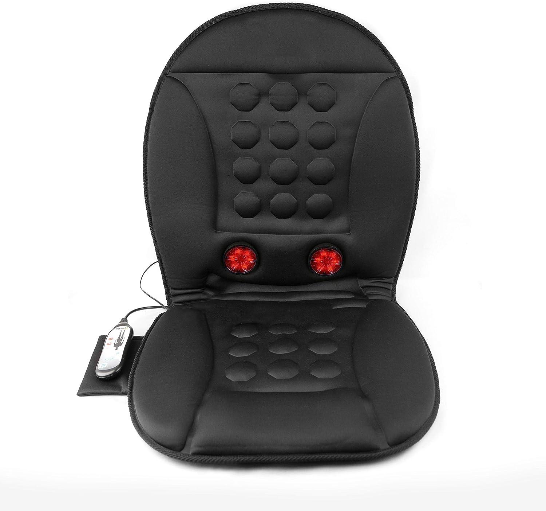 Wagan 12V Infra-Heat Massage Cushion