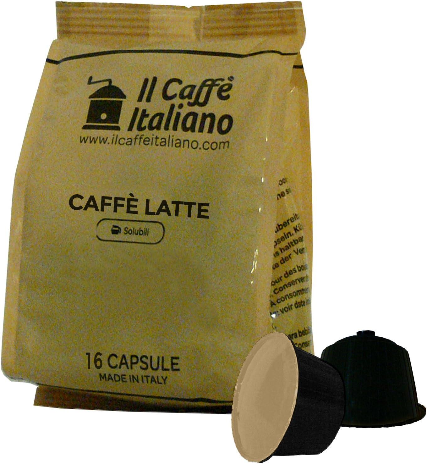 96 cápsulas compatibles con Nescafè Dolce Gusto - Café con leche ...