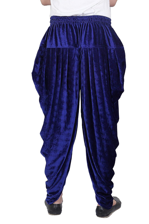 Patiala-Pants-Salwar-fuer-Maenner-Samt-elastischer-Bund-handgefertigt-laessig-Wear Indexbild 15