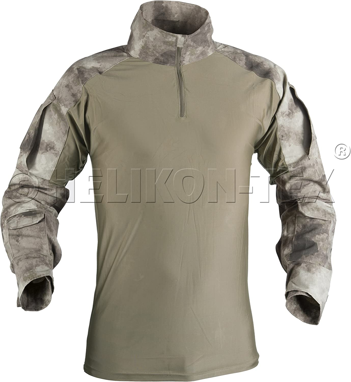 Helikon Tex Combat camisa – A de TACS AU Camo, color A-TACS AU ...