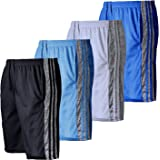 Active Club Men's Athletic Gym Shorts with Pockets - Quick Dry Running Workout Training Basketball Shorts