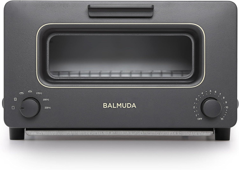 バルミューダ スチームオーブントースター BALMUDA The Toaster K01E-KG(ブラック)