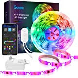 DreamColor LED Strip Lights, Govee 16.4ft RGBIC WiFi Wireless Smart Light Strip Works with Alexa Google Assistant App…
