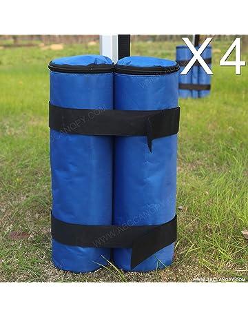 ABCCANOPY - Bolsa de Arena para Carpa de Pesas (4 Unidades)