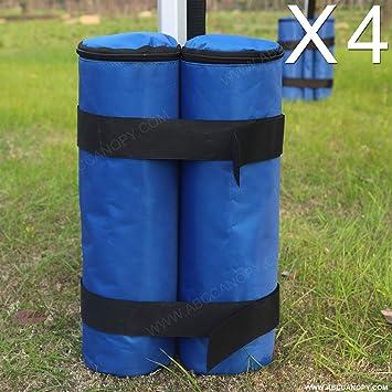 ABCCANOPY - Bolsa de Arena para Carpa de Pesas (4 Unidades): Amazon.es: Jardín