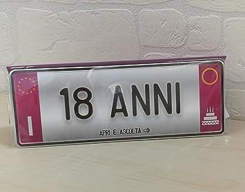 Biglietto Di Auguri Per Compleanno Donna 20 Anni 30 Anni 40 Anni