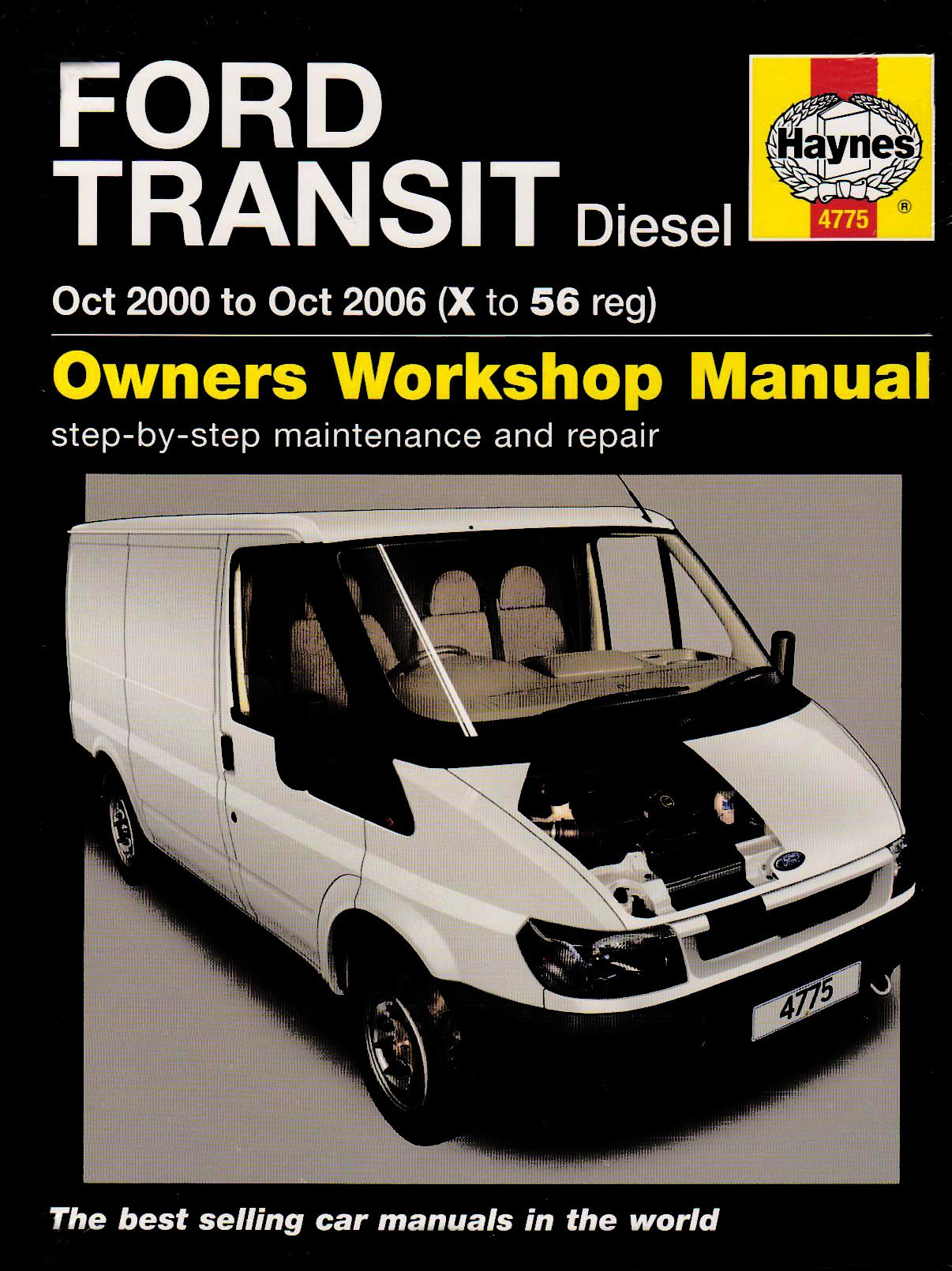 Ford Transit Diesel Service and Repair Manual: 2000 to 2006 (Haynes Service  and Repair Manuals): John S Mead: 9781844257751: Amazon.com: Books
