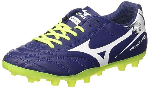 Mizuno Monarcida Neo AG, Chaussures de Football Entrainement Homme - Bleu -  Blu (Blue