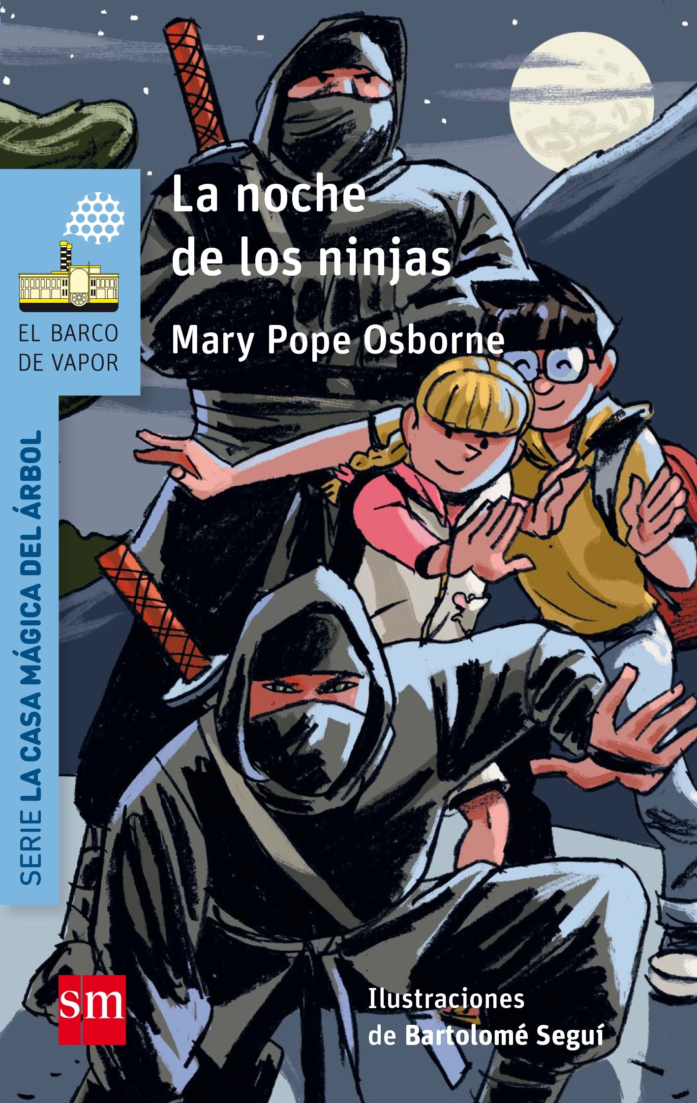 Casa magica del arbol 5/La noche de los guerreros Ninja ...
