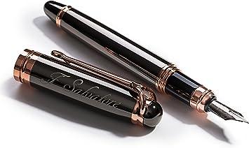 Classic Fashionable Fountain Pen  Refill Medium Elegant Metal Tip Ink Converter