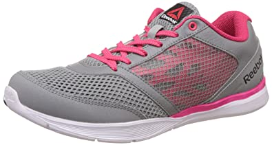 Reebok Women s Cardio Workout Low Rs Flat Grey a231ea089