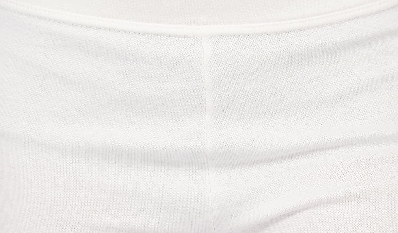 Comix Womens Cotton Hosiery Fabric Solid Capri XX-Large Cream