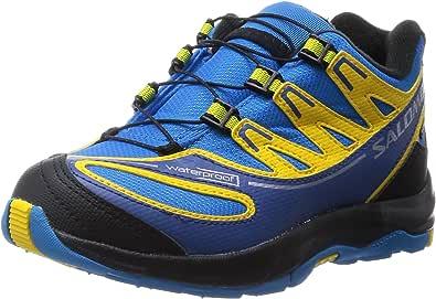 Salomon Zapatos para Niños Kids XA Pro 2WP -K Negro Asfalto Aluminio Negro