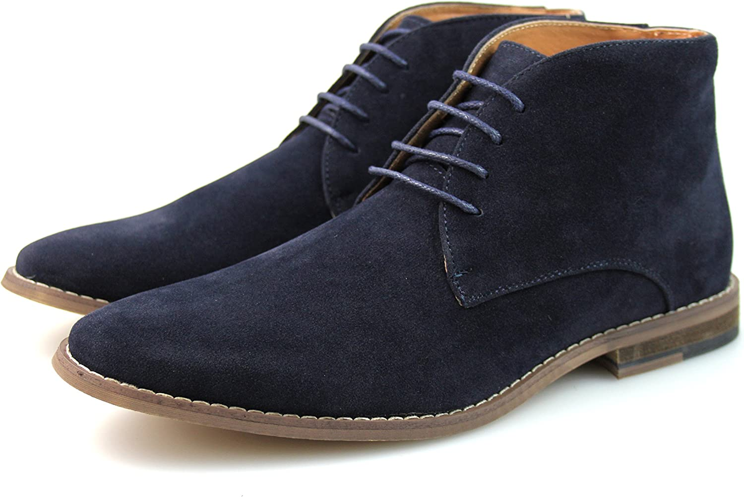 Mens Synthetic Suede Desert Boots