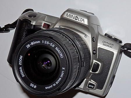 Fototechnik by LLL MINOLTA DYNAX 505si, Incluye LLLL Sigma Zoom ...
