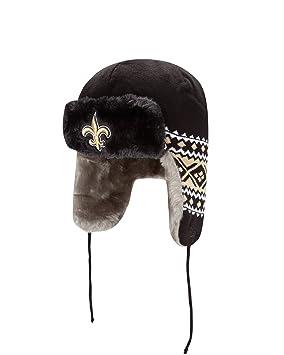 New Orleans Saints New Era Team Trapper Knit Trooper Hat  Amazon.co.uk   Sports   Outdoors 3c31e99d2
