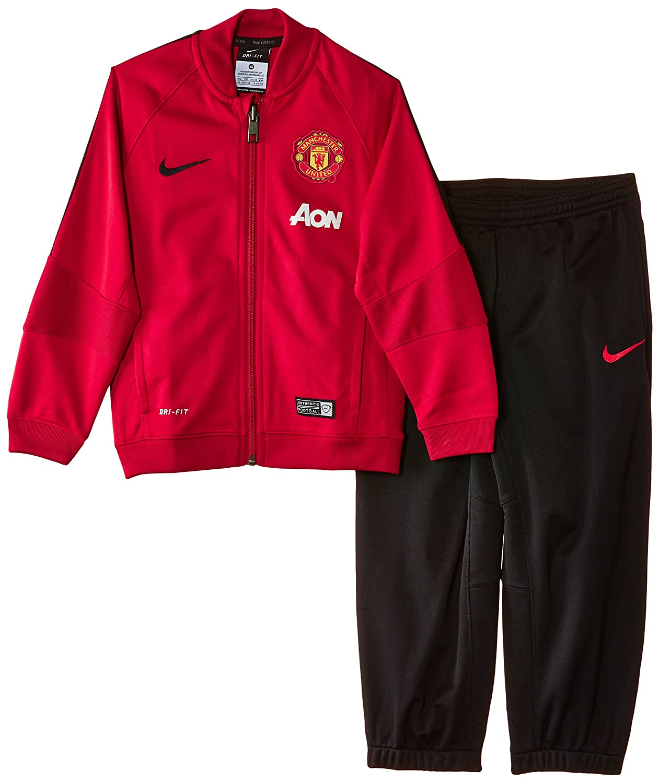 Nike Warm Up - Chándal de fútbol para niño, Color Rojo/Negro ...